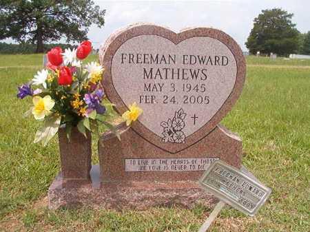 MATHEWS, FREEMAN EDWARD - Calhoun County, Arkansas | FREEMAN EDWARD MATHEWS - Arkansas Gravestone Photos