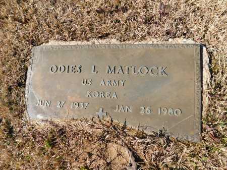 MATLOCK (VETERAN KOR), ODIES L - Calhoun County, Arkansas | ODIES L MATLOCK (VETERAN KOR) - Arkansas Gravestone Photos