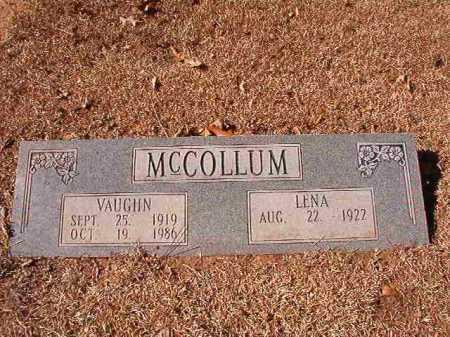 MCCOLLUM, VAUGHN - Calhoun County, Arkansas   VAUGHN MCCOLLUM - Arkansas Gravestone Photos