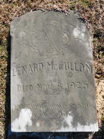 MCCULLOM, LENARD - Calhoun County, Arkansas | LENARD MCCULLOM - Arkansas Gravestone Photos