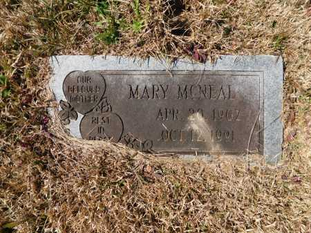 MCNEAL, MARY - Calhoun County, Arkansas | MARY MCNEAL - Arkansas Gravestone Photos