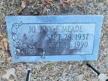 MEADE, JOHNNY F - Calhoun County, Arkansas | JOHNNY F MEADE - Arkansas Gravestone Photos