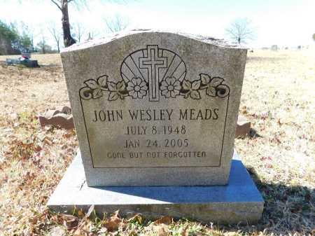 MEADS, JOHN WESLEY - Calhoun County, Arkansas | JOHN WESLEY MEADS - Arkansas Gravestone Photos