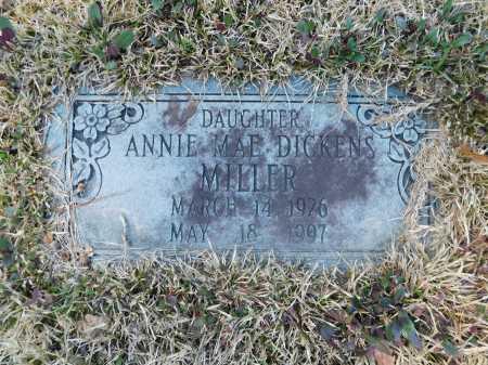 DICKENS MILLER, ANNIE MAE - Calhoun County, Arkansas | ANNIE MAE DICKENS MILLER - Arkansas Gravestone Photos