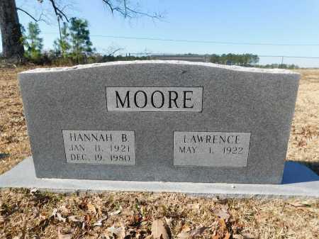 MOORE, HANNAH B - Calhoun County, Arkansas | HANNAH B MOORE - Arkansas Gravestone Photos