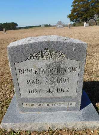 MORROW, ROBERTA - Calhoun County, Arkansas   ROBERTA MORROW - Arkansas Gravestone Photos