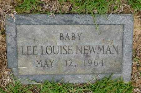 NEWMAN, LEE LOUISE - Calhoun County, Arkansas | LEE LOUISE NEWMAN - Arkansas Gravestone Photos