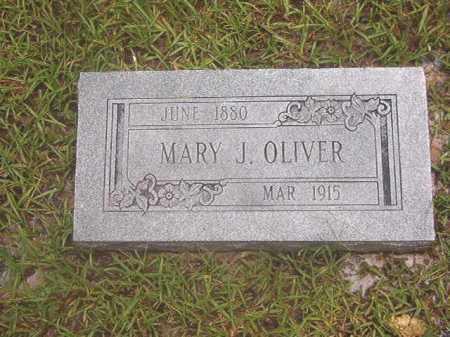 OLIVER, MARY J - Calhoun County, Arkansas   MARY J OLIVER - Arkansas Gravestone Photos