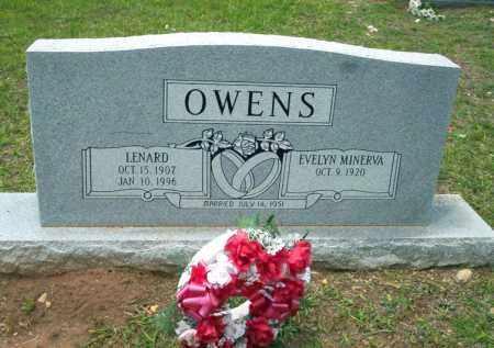 OWENS, LENARD - Calhoun County, Arkansas | LENARD OWENS - Arkansas Gravestone Photos