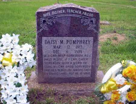 PUMPHREY, DAISY M - Calhoun County, Arkansas | DAISY M PUMPHREY - Arkansas Gravestone Photos