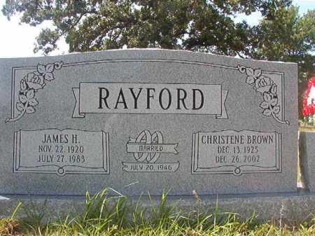 RAYFORD, CHRISTENE - Calhoun County, Arkansas | CHRISTENE RAYFORD - Arkansas Gravestone Photos