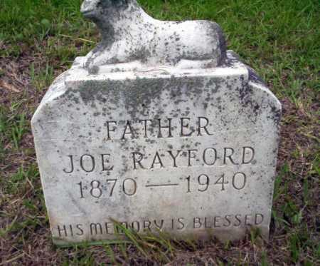 RAYFORD, JOE - Calhoun County, Arkansas | JOE RAYFORD - Arkansas Gravestone Photos