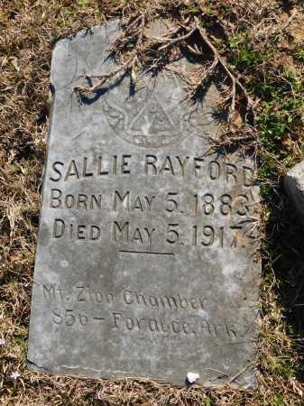 RAYFORD, SALLIE - Calhoun County, Arkansas   SALLIE RAYFORD - Arkansas Gravestone Photos