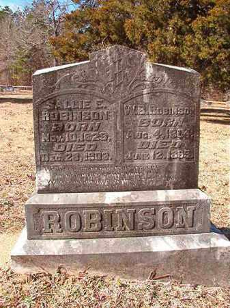 ROBINSON, W B - Calhoun County, Arkansas | W B ROBINSON - Arkansas Gravestone Photos