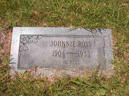 ROSS, JOHNNIE - Calhoun County, Arkansas   JOHNNIE ROSS - Arkansas Gravestone Photos