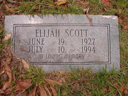 SCOTT, ELIJAH - Calhoun County, Arkansas   ELIJAH SCOTT - Arkansas Gravestone Photos