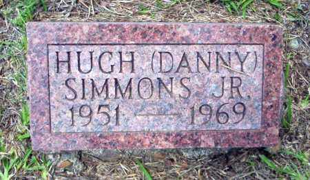 "SIMMON, JR, HUGH ""DANNY"" - Calhoun County, Arkansas   HUGH ""DANNY"" SIMMON, JR - Arkansas Gravestone Photos"