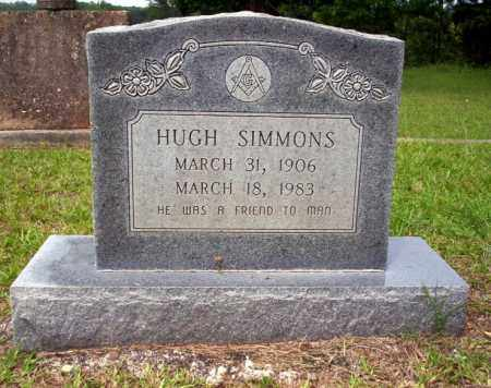SIMMONS, HUGH - Calhoun County, Arkansas | HUGH SIMMONS - Arkansas Gravestone Photos