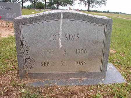SIMS, JOE - Calhoun County, Arkansas   JOE SIMS - Arkansas Gravestone Photos