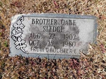 SLEDGE, GABE - Calhoun County, Arkansas | GABE SLEDGE - Arkansas Gravestone Photos