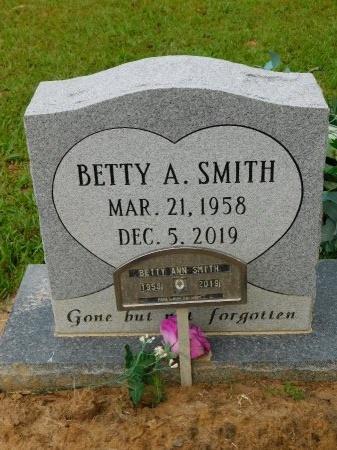 SMITH, BETTY ANN - Calhoun County, Arkansas   BETTY ANN SMITH - Arkansas Gravestone Photos