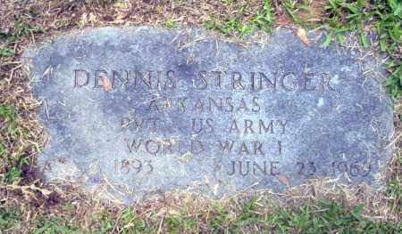 STRINGER (VETERAN WWI), DENNIS - Calhoun County, Arkansas | DENNIS STRINGER (VETERAN WWI) - Arkansas Gravestone Photos
