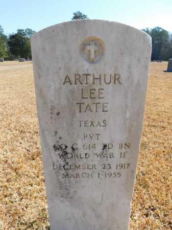 TATE (VETERAN WWII), ARTHUR LEE - Calhoun County, Arkansas   ARTHUR LEE TATE (VETERAN WWII) - Arkansas Gravestone Photos