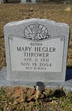 THROWER, MARY - Calhoun County, Arkansas | MARY THROWER - Arkansas Gravestone Photos