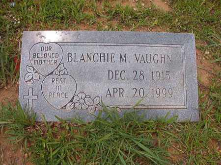 VAUGHN, BLANCHIE M - Calhoun County, Arkansas   BLANCHIE M VAUGHN - Arkansas Gravestone Photos
