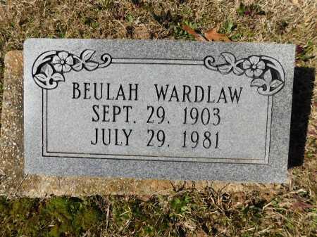 WARDLAW, BEULAH - Calhoun County, Arkansas | BEULAH WARDLAW - Arkansas Gravestone Photos