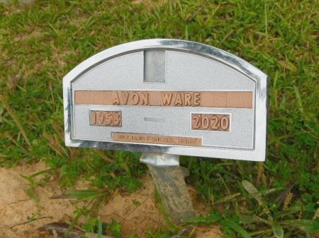 WARE, AARON (CLOSE UP) - Calhoun County, Arkansas | AARON (CLOSE UP) WARE - Arkansas Gravestone Photos