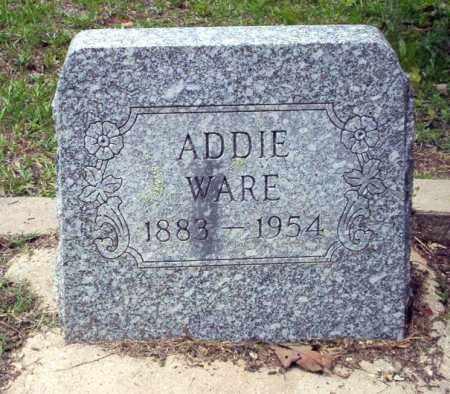 WARE, ADDIE - Calhoun County, Arkansas | ADDIE WARE - Arkansas Gravestone Photos