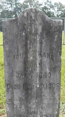 WARE, JOHN F - Calhoun County, Arkansas   JOHN F WARE - Arkansas Gravestone Photos