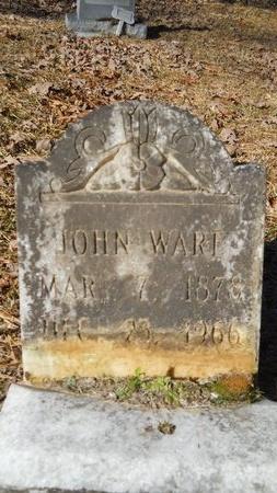WARE, JOHN - Calhoun County, Arkansas   JOHN WARE - Arkansas Gravestone Photos
