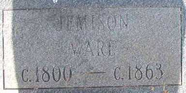 WARE, JEMISON - Calhoun County, Arkansas | JEMISON WARE - Arkansas Gravestone Photos