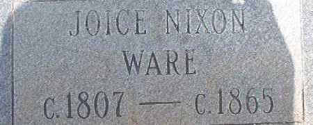 WARE, JOICE - Calhoun County, Arkansas   JOICE WARE - Arkansas Gravestone Photos