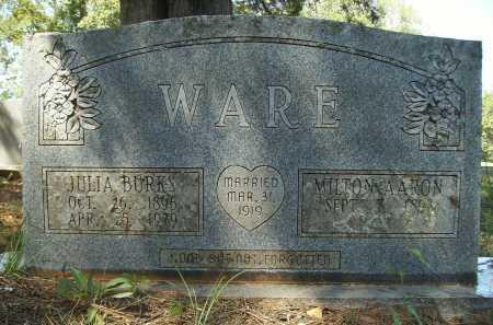 WARE, MILTON AARON - Calhoun County, Arkansas | MILTON AARON WARE - Arkansas Gravestone Photos