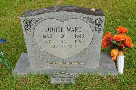 WARE, LOUISE - Calhoun County, Arkansas | LOUISE WARE - Arkansas Gravestone Photos