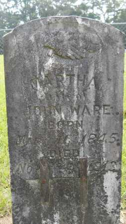 WARE, MARTHA - Calhoun County, Arkansas | MARTHA WARE - Arkansas Gravestone Photos