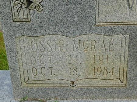 WARE, OSSIE (CLOSE UP) - Calhoun County, Arkansas | OSSIE (CLOSE UP) WARE - Arkansas Gravestone Photos