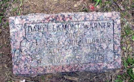 WARNER, DARYL LAMONT - Calhoun County, Arkansas   DARYL LAMONT WARNER - Arkansas Gravestone Photos