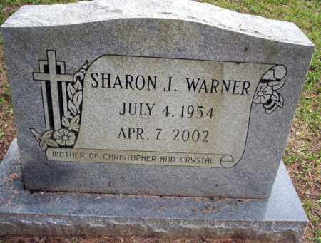 WARNER, SHARON J - Calhoun County, Arkansas | SHARON J WARNER - Arkansas Gravestone Photos