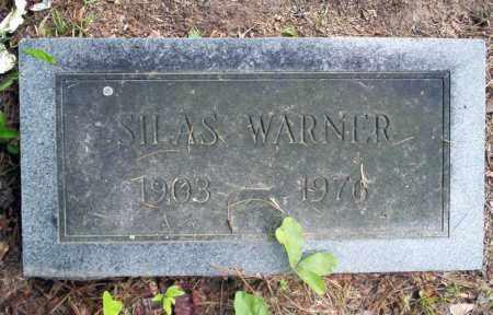 WARNER, SILAS - Calhoun County, Arkansas   SILAS WARNER - Arkansas Gravestone Photos