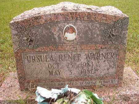 WARNER, URSULA RENEE - Calhoun County, Arkansas   URSULA RENEE WARNER - Arkansas Gravestone Photos