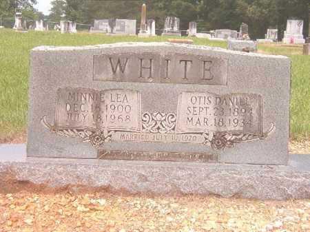 WHITE, MINNIE LEA - Calhoun County, Arkansas | MINNIE LEA WHITE - Arkansas Gravestone Photos