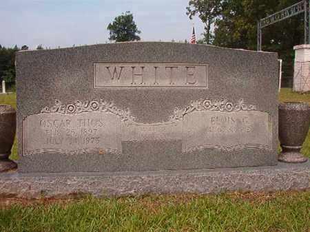 WHITE, OSCAR THOMAS - Calhoun County, Arkansas | OSCAR THOMAS WHITE - Arkansas Gravestone Photos