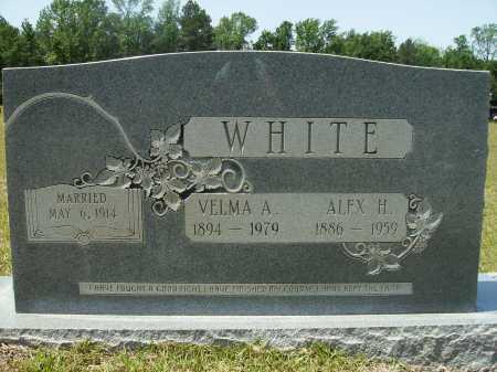 WHITE, VELMA A - Calhoun County, Arkansas   VELMA A WHITE - Arkansas Gravestone Photos
