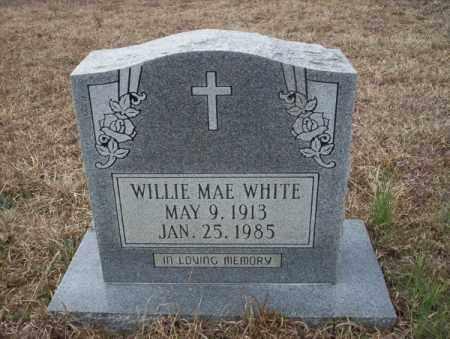 WHITE, WILLIE MAE - Calhoun County, Arkansas   WILLIE MAE WHITE - Arkansas Gravestone Photos