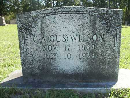 "WILSON, C A ""GUS"" - Calhoun County, Arkansas | C A ""GUS"" WILSON - Arkansas Gravestone Photos"