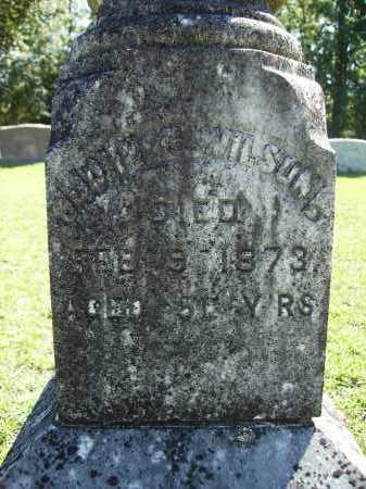 WILSON, JOHN C (CLOSEUP) - Calhoun County, Arkansas | JOHN C (CLOSEUP) WILSON - Arkansas Gravestone Photos
